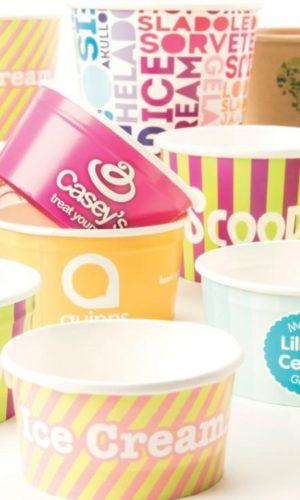 Personalised Ice Cream Tubs