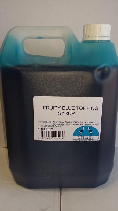 Kulkis Topping Sauce Fruity Blue