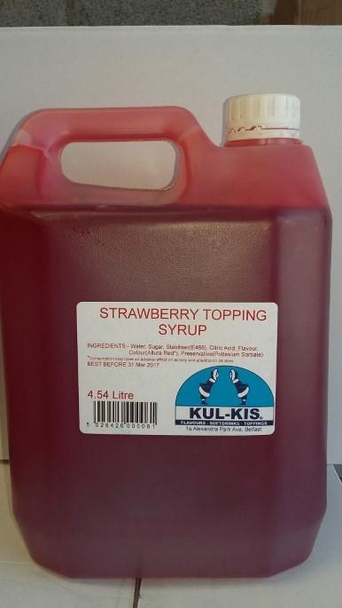 Kulkis Topping Sauce Strawberry