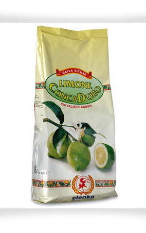 321 Conca D'oro 100 Lemon 1kg Quick Ready Mix for Granitas & Sorbets