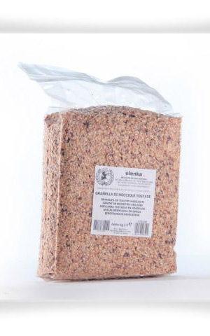 349 Granules Of Toasted Hazelnuts