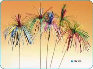 Single Colour Sparkling Palms (20cms)