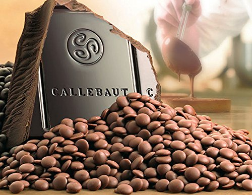 Callebaut Belgian Milk Choc Buttons (Re-Seal Tub)