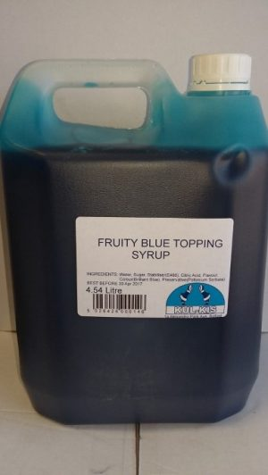 Kulkis Topping Sauce Fruity Blue