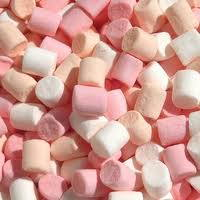 Mini Mallows Coloured/White